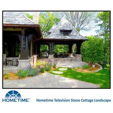 Craftsman Landscape by Anderson Design / ErosionZ.  Minnesota Landscape.