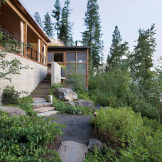 Rustic Landscape by Andersson-Wise Architects