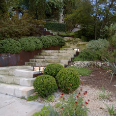 Traditional Landscape by D-CRAIN Design and Construction