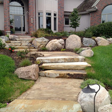 Traditional Landscape by Olive Branch Integrated Outdoor Design