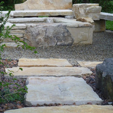 Contemporary Landscape by Waterfalls Fountains & Gardens