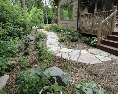 flagstone path photos - Flagstone Walkway Design Ideas