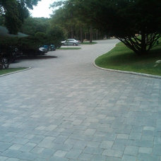 Traditional Landscape by Stonewood Products