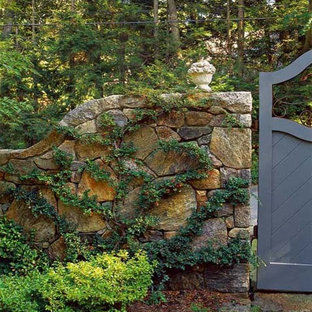 Design ideas for a rustic landscaping in Boston.