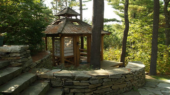 Stonework & Timber Frame Projects