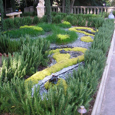 Mediterranean Landscape by Cassy Aoyagi, FormLA Landscaping