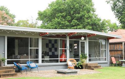 My Houzz: Designer Opens Up Her Midcentury Home in Tulsa