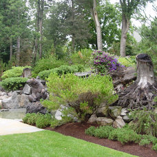 Traditional Landscape by Deborah Silver and Co Inc