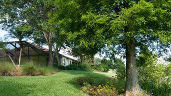 Suburban Lakeside Garden