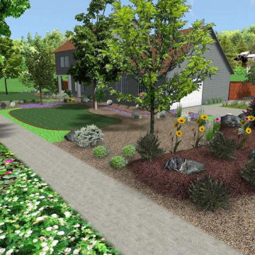 Suburban Permaculture Design and Homestead