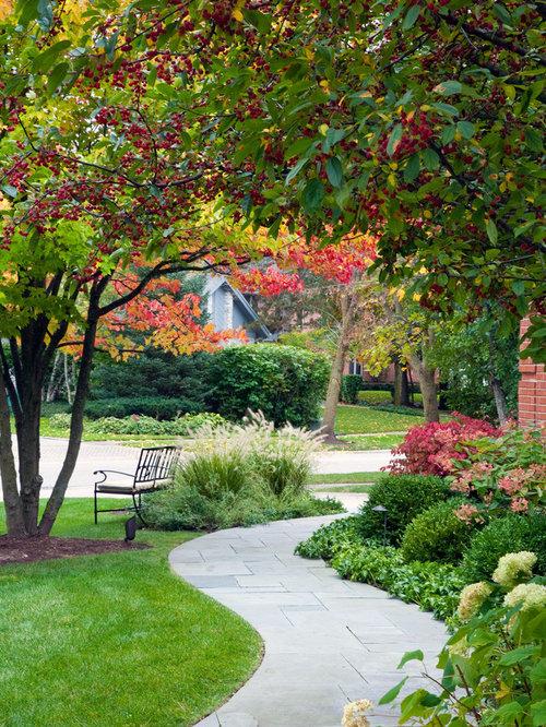 Sidewalk Landscaping   Houzz