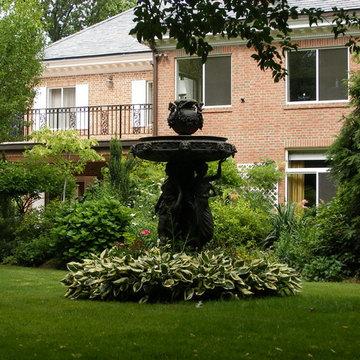 Suburban Statue Garden