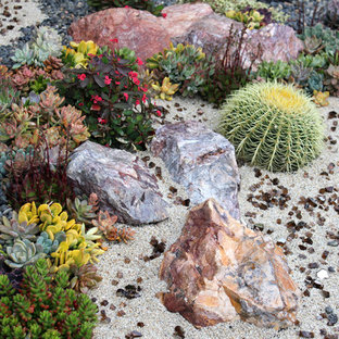 Inspiration for a small southwestern landscaping in San Diego.