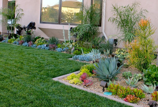 Transitional Garden by Cool Designs for Landscapes