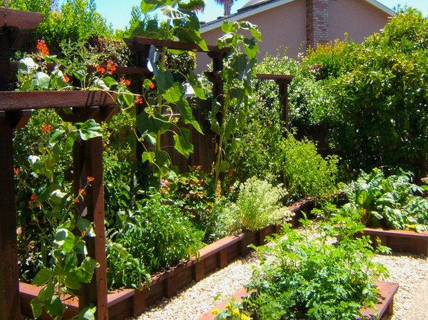 Rustic Garden by Edger Landscape Design