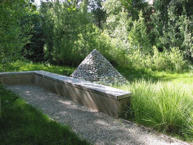 Rustic Landscape by Randy Thueme Design Inc. - Landscape Architecture