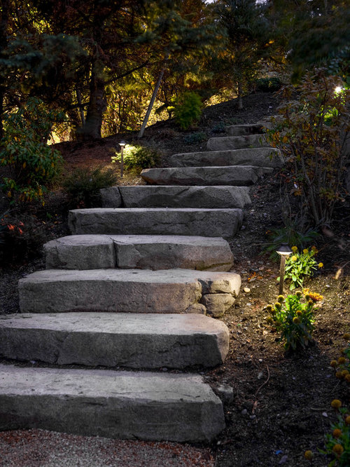 Natural Stone Steps : Natural stone steps houzz