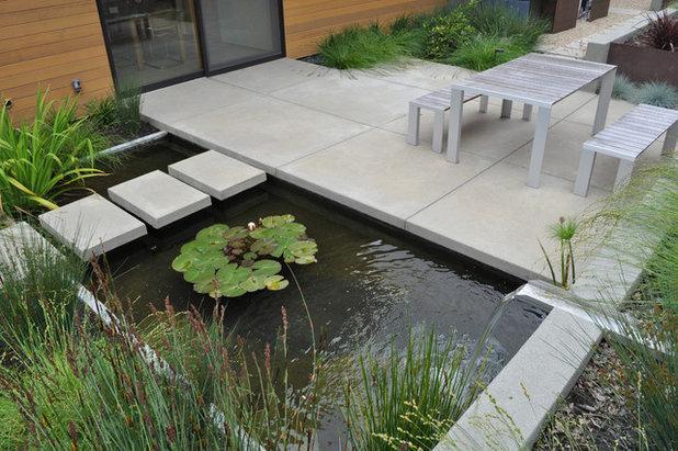 Contemporain Jardin by Huettl Landscape Architecture