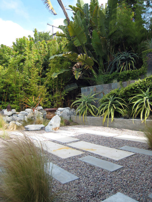 Xeriscape landscape home design ideas pictures remodel for Landscaping rocks in los angeles