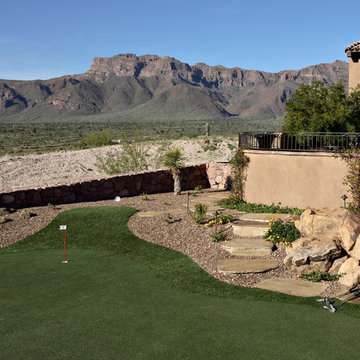 Superstition Mountain--Putting Green