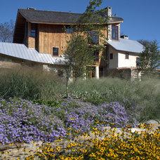 Rustic Landscape by jonathan alderson landscape architects, inc.