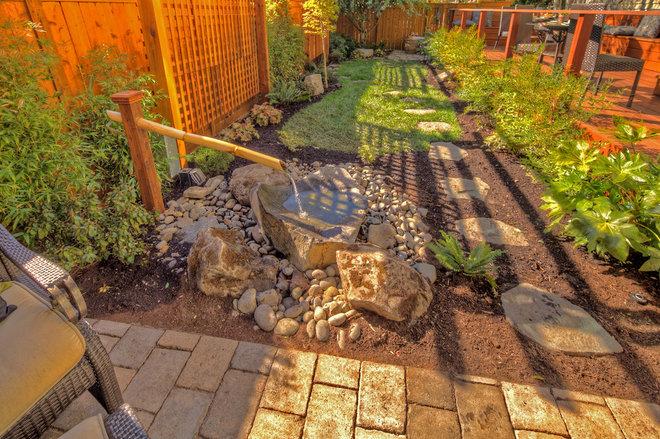 Patio ideas for Paradise restored landscaping exterior design