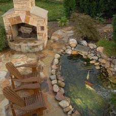 Contemporary Landscape by ARNOLD Masonry and Landscape