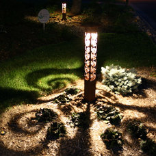 Eclectic Landscape by Attraction Lights