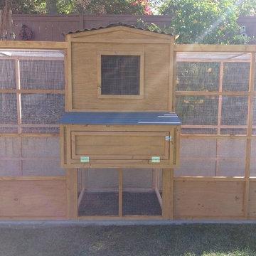 Symmetrical Garden Chicken Coop
