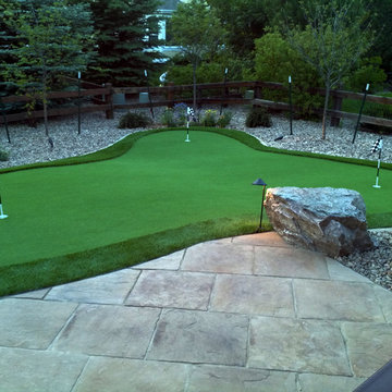 Synthetic Grass Putting Green in Westminster