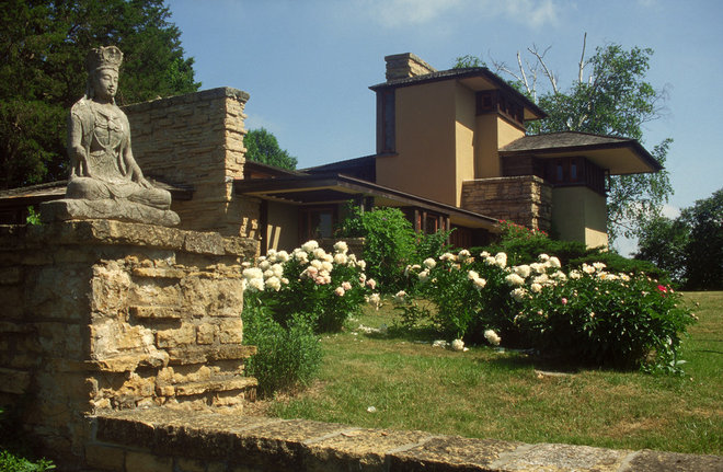 Traditional Landscape by Taliesin Preservation, Inc.