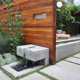 Design ideas for a modern landscaping in Los Angeles.