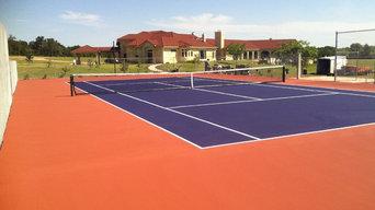 Tennis Resurfacing
