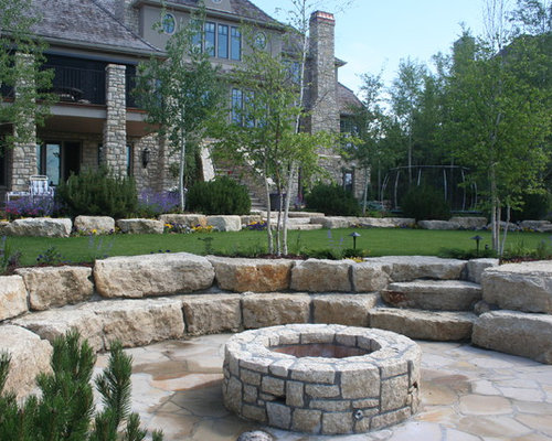 Landscaping Bricks Calgary : Traditional calgary landscape design ideas remodels photos