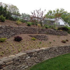 Contemporary Landscape by Green Spaces Landscaping, LLC