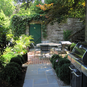 Terraced Patios & Gardens, Chestnut Hill