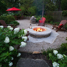outddoor eating/fire pits
