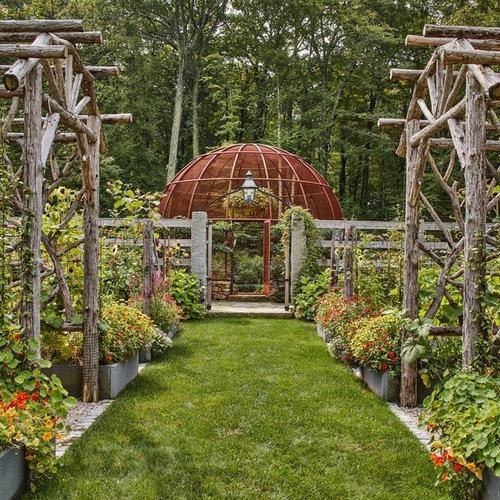 Très grand jardin potager : Photos et idées déco de jardins potagers