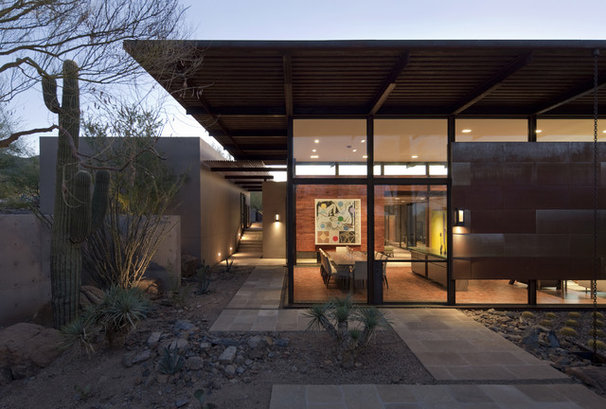 Southwestern Exterior by the construction zone, ltd.