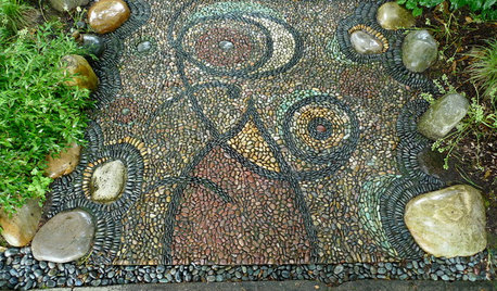 The Artful Garden: Pebble Mosaic