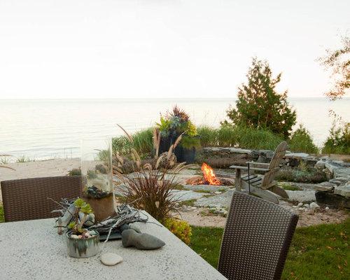 Jardin bord de mer Milwaukee : Photos et idées déco de jardins