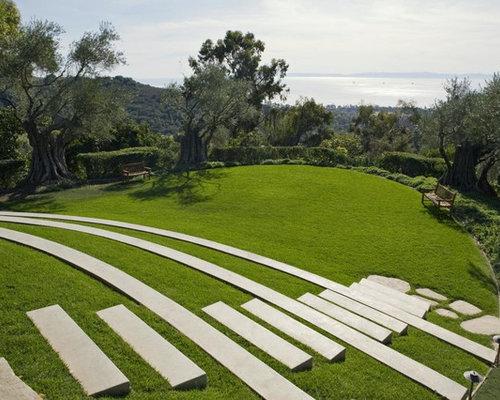Contemporary amphitheatre outdoor design ideas for 500 hillside terrace bessemer al