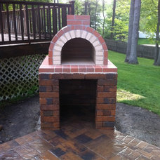 Traditional Landscape by BrickWood Ovens