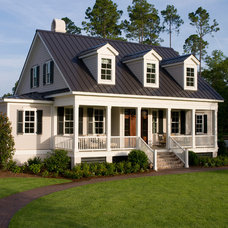 Traditional Landscape by Shoreline Construction and Development