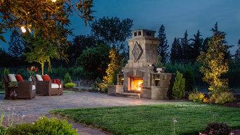 The Paver Company - Fireplace