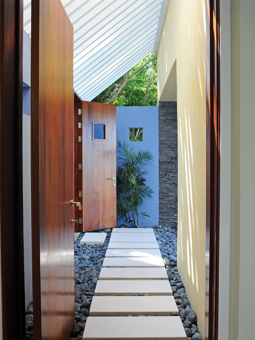 Modern Entryway Landscaping : Small entryway houzz