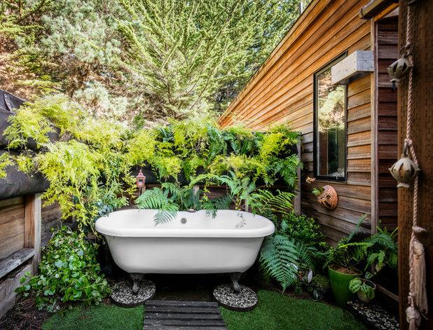 Eclectic Landscape By Le Van Interior Design