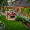 Cómo diseñar y distribuir un jardín de 1.000 m²