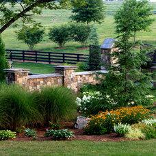 Traditional Landscape by Cornerstone Design+Build Solution