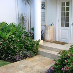 tropical landscape by Garden spaces